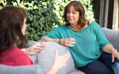 Met wie ben jij de hele dag in gesprek?